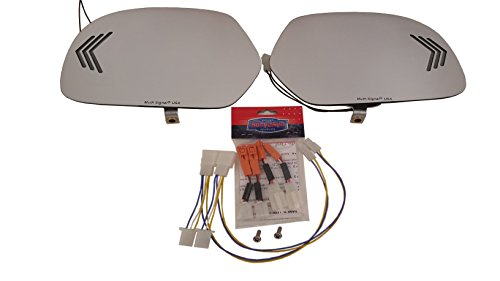 me Sequential Signal Mirror Kit for Honda Goldwing 1800 (Muth Signal Mirrors)