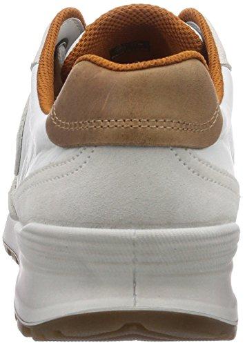 Ecco CS14Men's - zapatilla deportiva de cuero hombre blanco - Weiß (Shadow White/White/WhiteSUE/U.Run.50153)