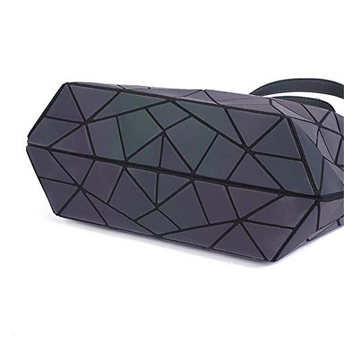 Borse Big Geometry A Tote Diamond Trapuntate Luminoso Laser Piane Tracolla Pieghevoli Sac Small Style Briefcase Donna fwagx6q