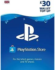 PlayStation PSN Card 30 GBP Wallet Top Up | PSN Download Code - UK account