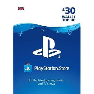 PlayStation PSN Card 30 GBP Wallet Top Up | PS5/PS4/PS3 | PSN Download Code – UK account