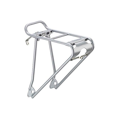 Racktime Topit Universal Front Mount Rack: Silver