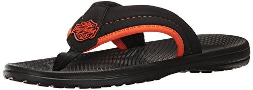 harley-davidson-mens-banks-athletic-sandal-black-orange-11-m-us