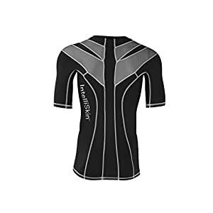 IntelliSkin Men's Foundation 2.0 Athletic Shirt, Silver Burst/Black, 3X-Large