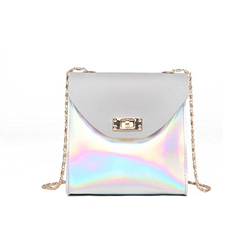 Bag Gray Bag Women Bolayu Crossbody Phone Bag Fashion Coin Bag Messenger Bag Shoulder wPZwgqTx