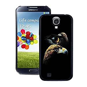 Blazing Colour Eagle Pattern 3D Effect Hard Case for Samsung Galaxy S4 i9500