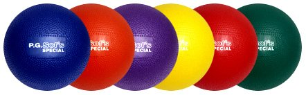 Color My Class P.G. Sof's Balls 8'' by BSN Sports