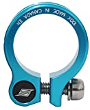 Straitline Components Seatpost collar, 34.9mm - atomic blue