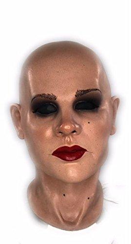 Grauland Frauenmaske Schaumlatex Maske Diva Latexmaske