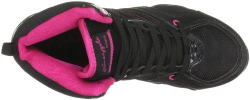 Pineapple Women's Zoom Lace Ups Trainers Black/Fuchsia hDZkkRmq