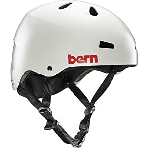 Bern Macon - Casco, color gris claro