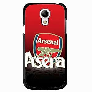 Samsung Galaxy S4 Mini Case,Arsenal Football Club Logo Protective Phone Case Black Hard Plastic Case Cover For Samsung Galaxy S4 Mini