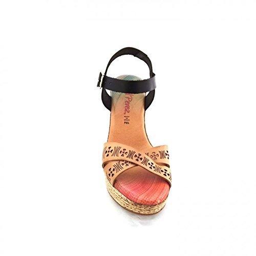 Raquel Perez Women's Fashion Sandals Dark Brown (Di Moro) ziw6Y