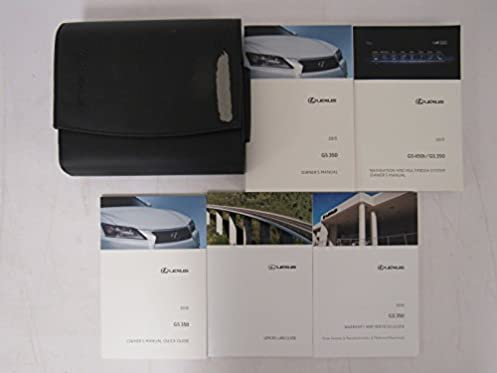2015 lexus gs 350 owners manual guide book amazon com books rh amazon com lexus gs300 owners manual lexus es350 owners manual 2018
