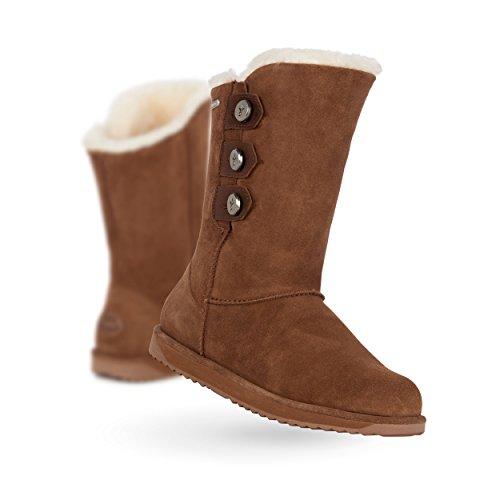 EMU Australia Captain Womens Liner Skin Boot Waterproof Fashion in Oak,9 B(M) US