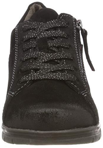 black 23611 Basses 001 Noir Sneakers 8 001 Femme 8 Jana 21 On1PPzq