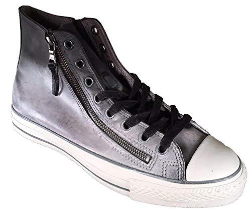 Converse X John Varvatos Unisex Chuck Taylor Allstar Double Zip  Black Beluga 7 M  e3c8cee87