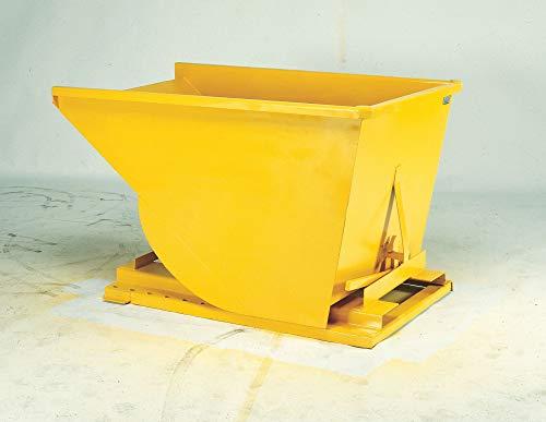 (Gray Self-Dumping Hopper, 7.0 cu. ft, 4000 lb. Load Cap, 22-1/4