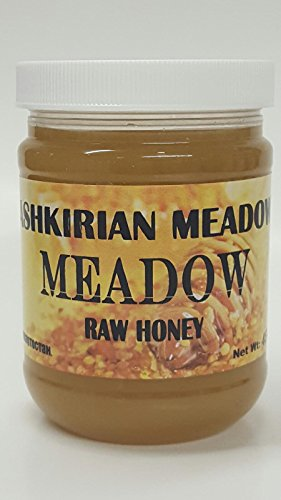 Bashkirian Raw Meadow Honey 454G/16oz