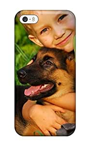 linfenglinAMGake VAZpWhV3133IdnZK Case Cover Iphone 5/5s Protective Case Cute Puppy Dog Animal