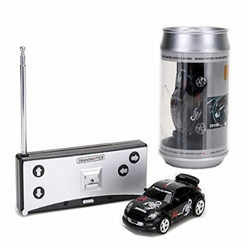 Mini 1:58 Coke Can RC Radio Remote Control Race Racing Car Toy Vehicles Gift XD ()