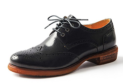 Women Oxford leather shoes E208 (8 B(M)US , B)