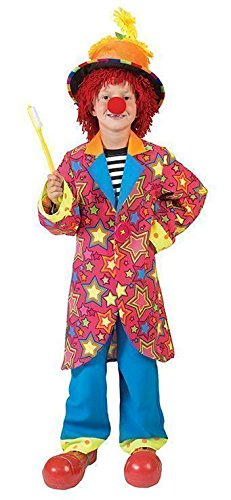 Morris Costumes Halloween Party Sparkling Star Clown Boy - Size -