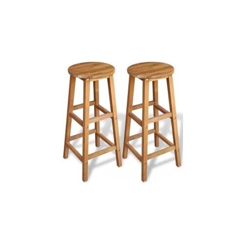 Kitchen Stools Uk Only: Wooden Stools: Amazon.co.uk
