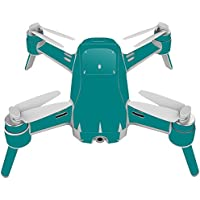 Skin For Yuneec Breeze 4K Drone – Solid Teal | MightySkins Protective, Durable, and Unique Vinyl Decal wrap cover | Easy To Apply, Remove, and Change Styles | Made in the USA