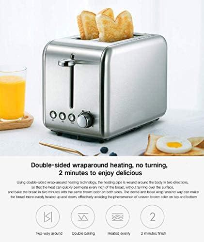 L.TSA Cuisine Pain Machine De Cuisson Grille-Pain Électrique Ménage Automatique Petit Déjeuner Toast Sable Sable Maker Chaud Cuisine Grill Four