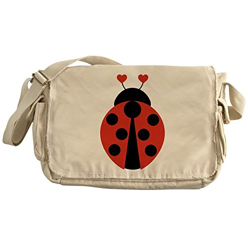 CafePress - Lady Bug - Unique Messenger Bag, Canvas Courier Bag by CafePress