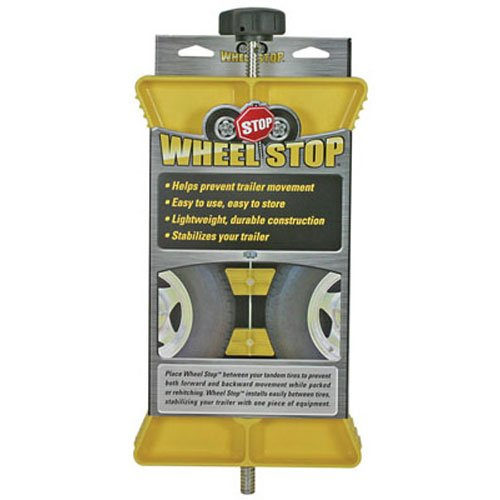Camco 44622 Wheel Stop (Large) - Trailer Jack Wheel Stop