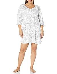 Karen Neuburger Womens Pajama Top 3/4 Sleeve Shirt Pj Pajama Top