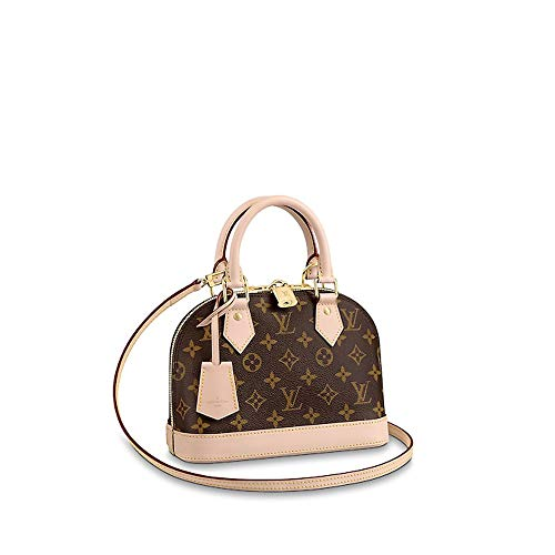 LLVV Women's Monogram canvas ALMA BB handbags ()