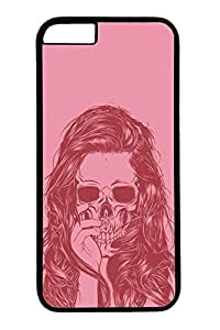 B Skull Slim Hard Cover for iPhone 6 Plus Case ( 5.5 inch ) PC Black Cases in GUO Shop
