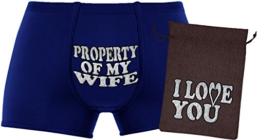 Cool Gift Set - Property of my wife - A Birthday Present , Anniversary Unique gift. Gift Idea.