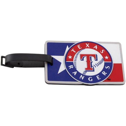 Texas Rangers - MLB Soft Luggage Bag Tag by aminco