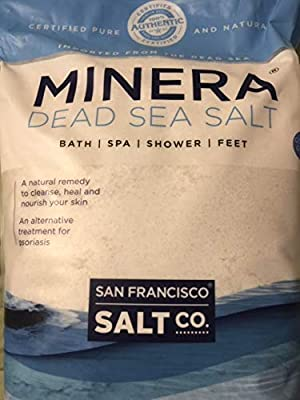 Minera Dead Sea Salt 19 lbs