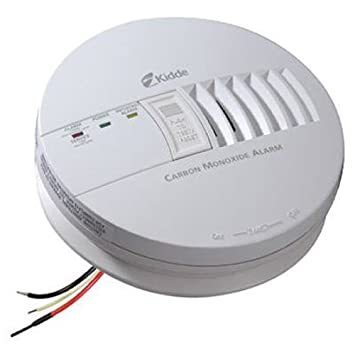 Kidde Hardwire Carbon Monoxide Detector Alarm with Battery Backup, Interconnectable | Model KN-COB-IC