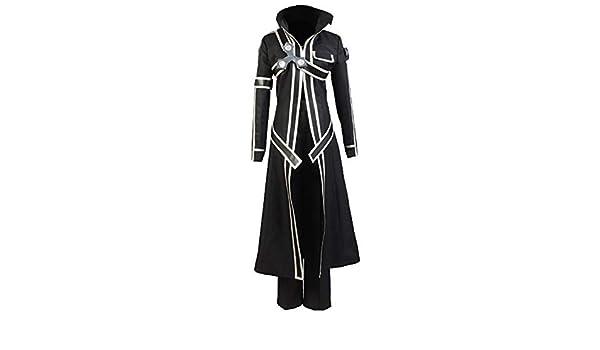Ya-cos Sword Art Online Kirito - Traje de Batalla, Color Negro ...