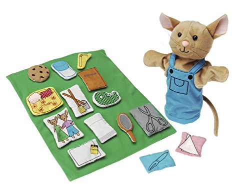Story Props - If You Give A Mouse A Cookie Puppet & Props
