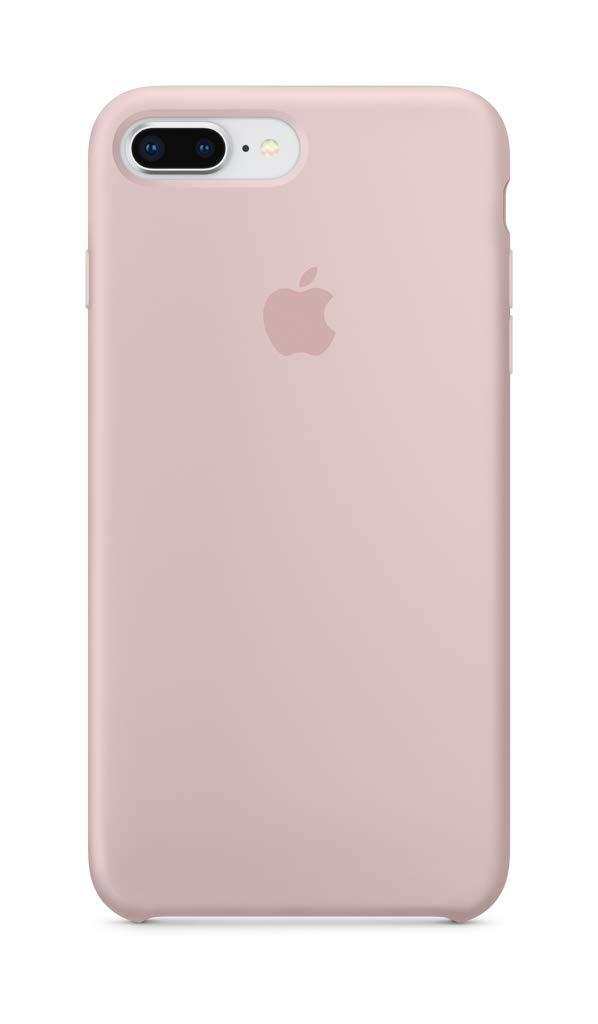 reputable site 7d217 a7f5d Apple Silicone Case (for iPhone 8 Plus / iPhone 7 Plus) - Pink Sand