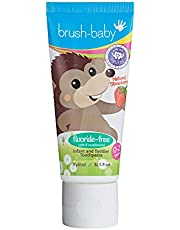 Brush Baby Non-Fluoride Strawberry Toothpaste