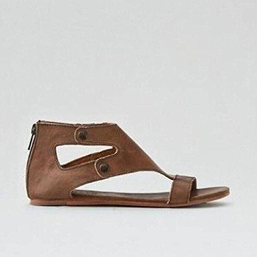 sandalias los six Señoras Thirty Donyyyy y grandes zapatos zapatos enfriar v5wYq