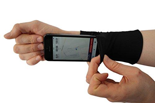 Phone Stretch; Smartphone Armband; Armtasche für Handy; Smartphonetasche für Joggen, Laufen, Fitness, Sport; Sportarmband; Unterarmtasche; Handytasche; Lauftasche (Medium)