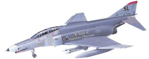 ハセガワ 1/48 アメリカ空軍 F-4E ファントムII W/ワンピースキャノピー プラモデル PT8