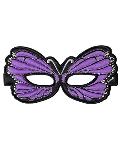 [Purple Butterfly Mask] (Custom Made Infant Halloween Costumes)