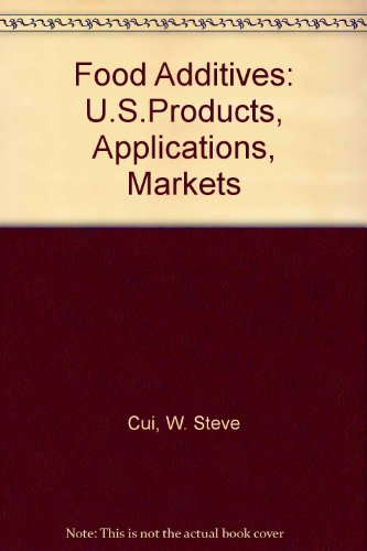 Food Additives: US Products, Applications and Markets