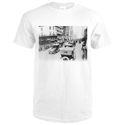 Easter On Fifth Avenue Of New York Photograph (Premium White T-Shirt - Shops On New York 5th Avenue