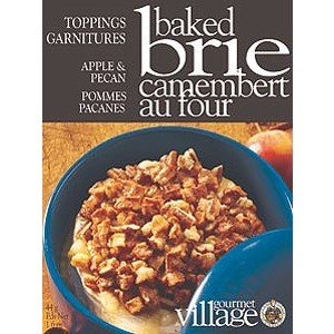 Gourmet Village Baked Brie Topping Mix - Apple & Pecan
